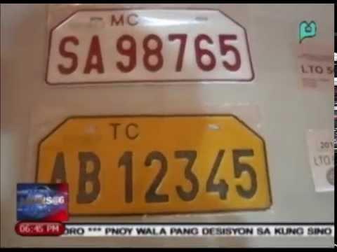 News@6: LTO, nag-abiso sa mga motoristang magre-renew ng mga lumang plaka || Jan. 2, '15