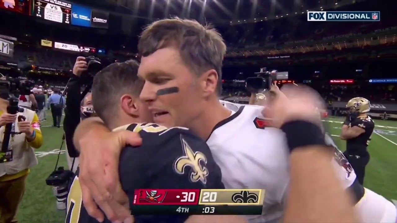 Bucs Win & Drew Brees Leaves the Superdome for the Final Time