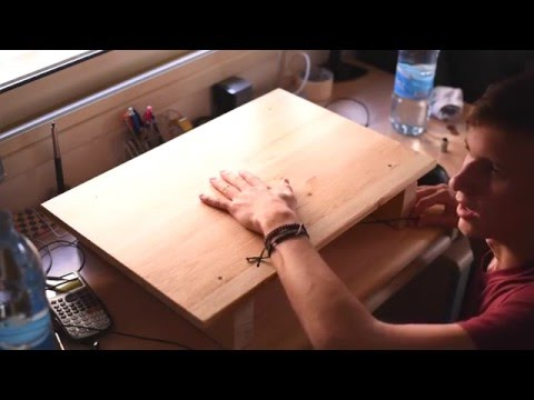 How to Build a Laptop Stand/Lap Desk (about $15)