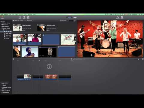 iMovie 10 Tutorial Basics #5 Chaning Picture Duration
