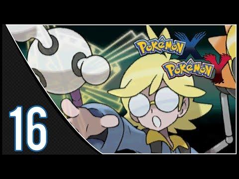 Pokemon X & Y Walkthrough: Part 16 - Lumiose City Gym