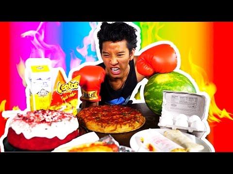 Marlins Fist VS. Food!!