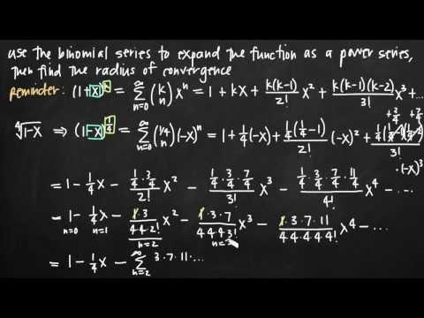 Binomial series (KristaKingMath)