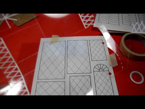 Dollhouse Window Grids