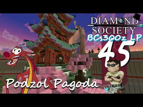 DiamondSocietySMP :: Minecraft LP Ep45 - Podzol Pagoda