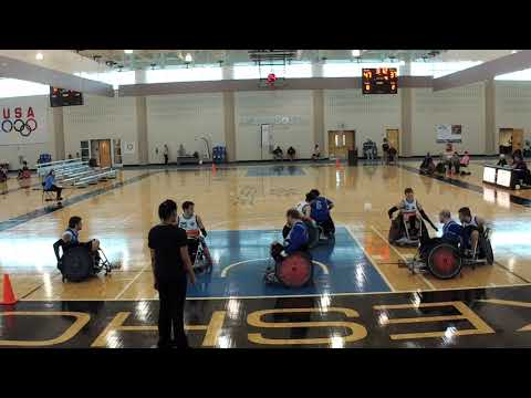 Detroit Wheelchair Rugby Club  St Louis Period 4 (2018 03 16)