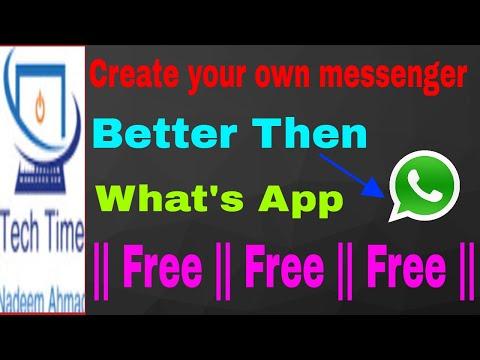 Create Your Own Messenger App Like WhatsApp And EARN! || Hindi/Urdu ||
