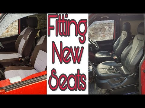Fitting aftermarket seats (t4)
