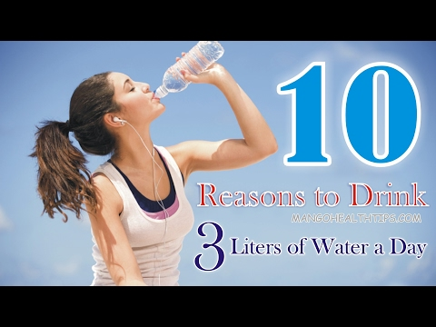 10 Reasons to Drink 3 Liters of Water a Day -How Much Water To Drink To Lose Weight? [HD]