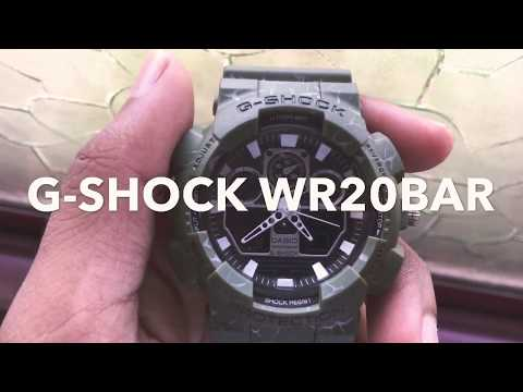 G-SHOCK WR20BAR Quick look