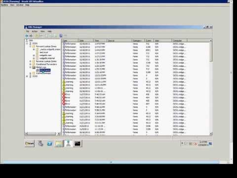 How to setup and configure DNS Event logging in a Windows 2008 DNS server