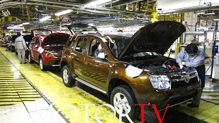 CAR FACTORY: DACIA DUSTER & DACIA SANDERO PRODUCTION