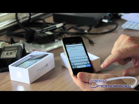 iPhone 4S 16GB (Black) Unboxing and First Look