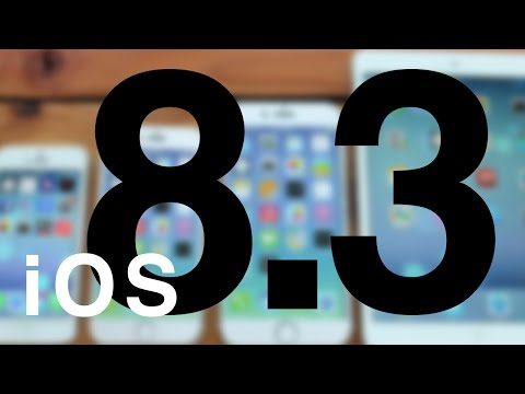 How to Update iPhone iPad iPod to iOS 8.3, how to install upgrade
