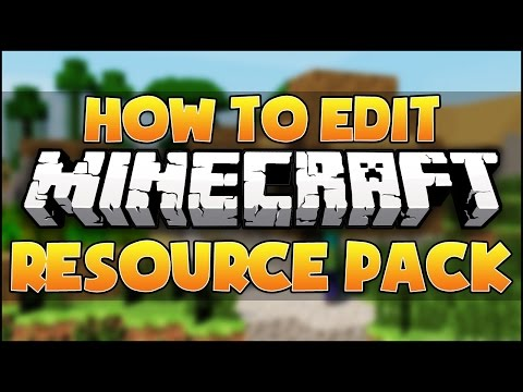 How To Edit Minecraft Resource/Texture Packs 1.8