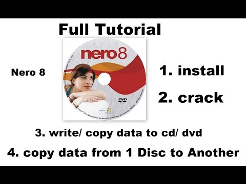 NERO Install/ Write/copy data/ one disc to another Tutorial Excellent, Telugu Tutorial