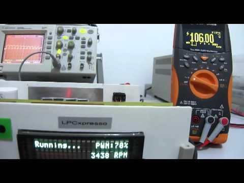 Single-Phase Induction Motor Drive (ARM Cortex-M0)