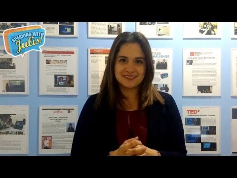 Daniela Galindo, CEO of Speaking with Julis, on Women in Innovation and Creativity