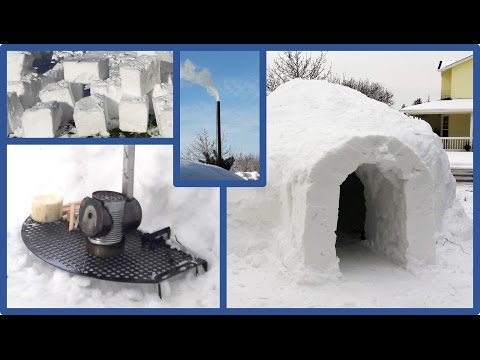 How to build an Igloo in your backyard