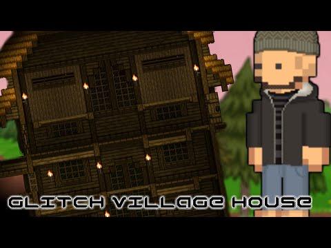 Starbound Lrn2Creative - Glitch Village House