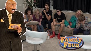 Family Feud vs. JesserTheLazer - FUNNIEST FAMILY GAME EVER!