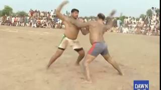 Kabadi match held in Toba Tek Singh
