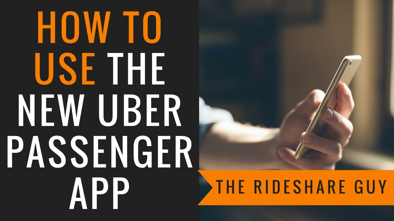 How To Use the Uber App for Passengers & Riders (Tutorial/Training)