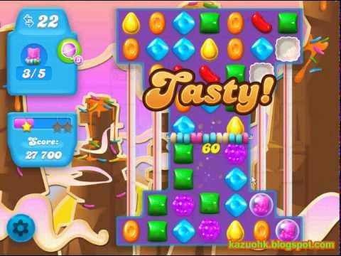 Candy Crush Soda Saga level 65 (No boosters)