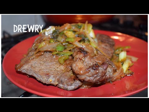 BEST SALT'N' PEPPER BEEF STEAK WITH SOYA SPRING ONIONS