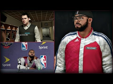 PS4 NBA 2K14 MyCAREER: Fighting With Earl Watson In ...  Nba 2k14 Graphics Comparison