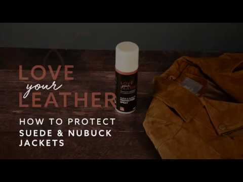 How to protect your suede jacket