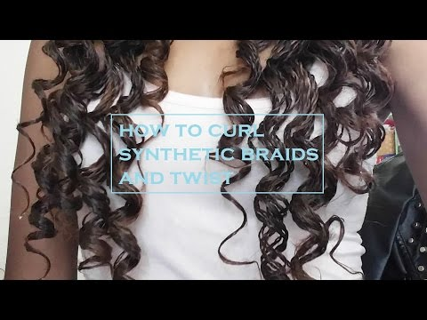 How to Curl Synthetic Braids andTwist