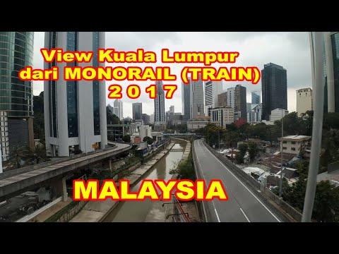 KEREEN!! Melihat Kuala Lumpur dari MONORAIL (TRAIN) KL Sentral to Titiwangsa PART-3