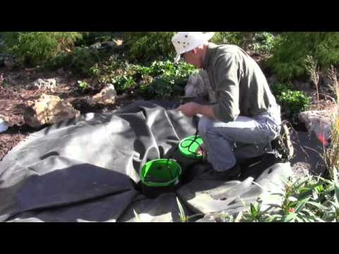 How to Create a Bubbler Water Feature