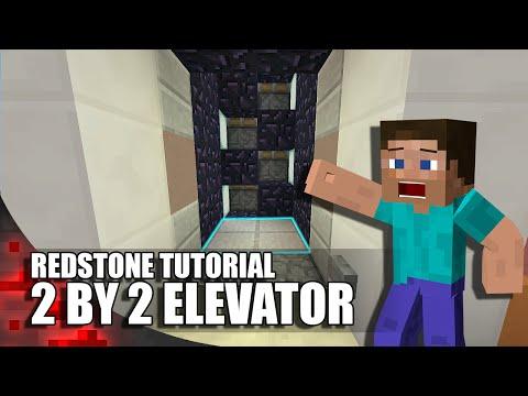Minecraft: Redstone Elevator (2by2)