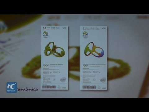 Rio Olympic tickets feature spontaneity of Brazilians