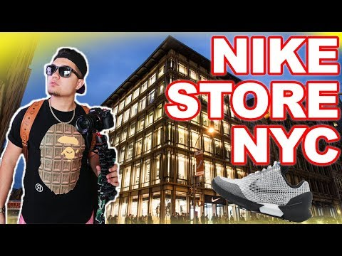 SHOPPING IN 6 STORY NIKE STORE!! **RARE SNEAKER EVERYWHERE**
