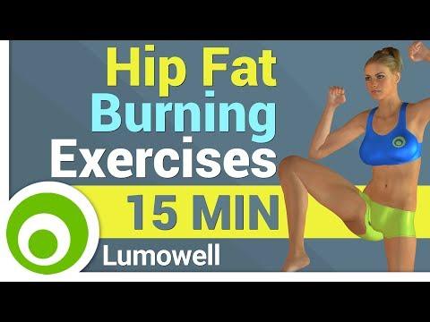 Hip Fat Burning Exercises for Women