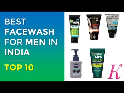 Top 10 Face Wash for Men in India with Price   2017