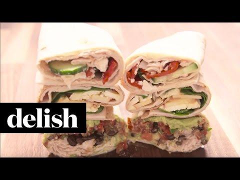 How To Make Turkey Wrap Stars | Delish