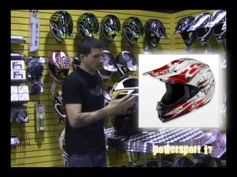 PowerSport TV Choosing the Right ATV Helmet