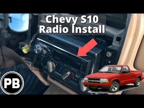 1998 - 2004 Chevy S10 Blazer Jimmy Sonoma Radio Install Pioneer DXH-X4869BT