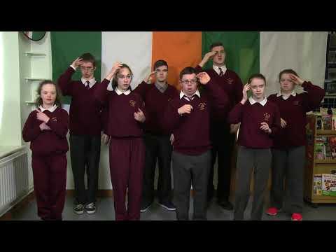 Irish National Anthem in Irish Sign Language