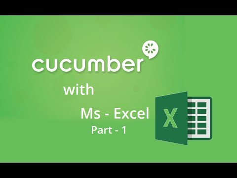24. Cucumber with Excel Part - 1