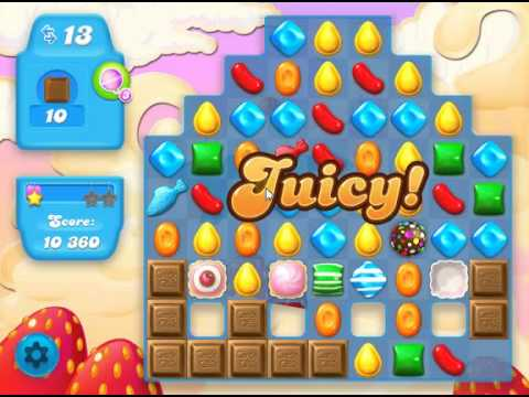 How to beat Candy Crush Soda Saga Level 35 - 1 Stars - No Boosters - 60,580pts