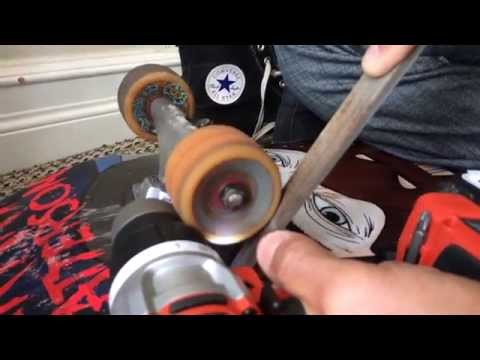 How to Remove Flat Spots from Skateboard Wheels