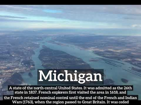 What is Michigan? | How Does Michigan Look? | How to Say Michigan in English?