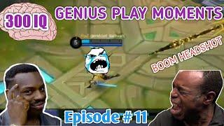 300 IQ Genius Plays Moments Episode # 11 Mobile Legends LUCU |WTF|Funny| OMG| (Smartest Plays)