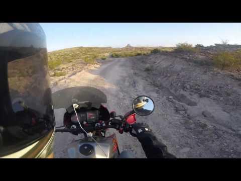 Kawasaki KLR650 - Big Bend - Morning Trail
