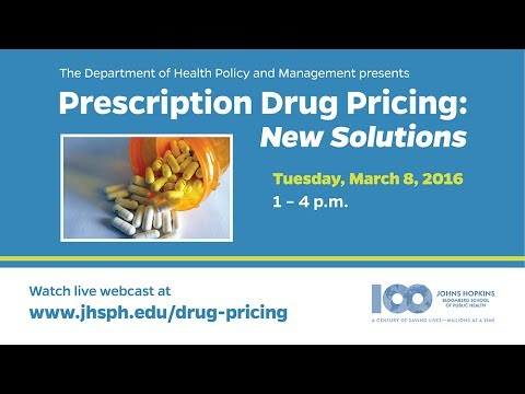 Prescription Drug Pricing: New Solutions